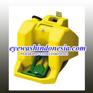 KRISBOW EYE WASH STATION PORTABLE YELLOW